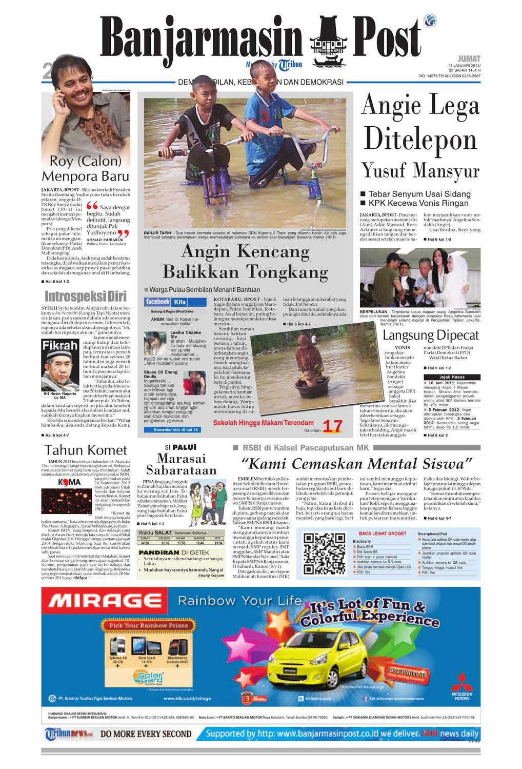 Banjarmasin Post Edisi Jumat 1bca53c0e2