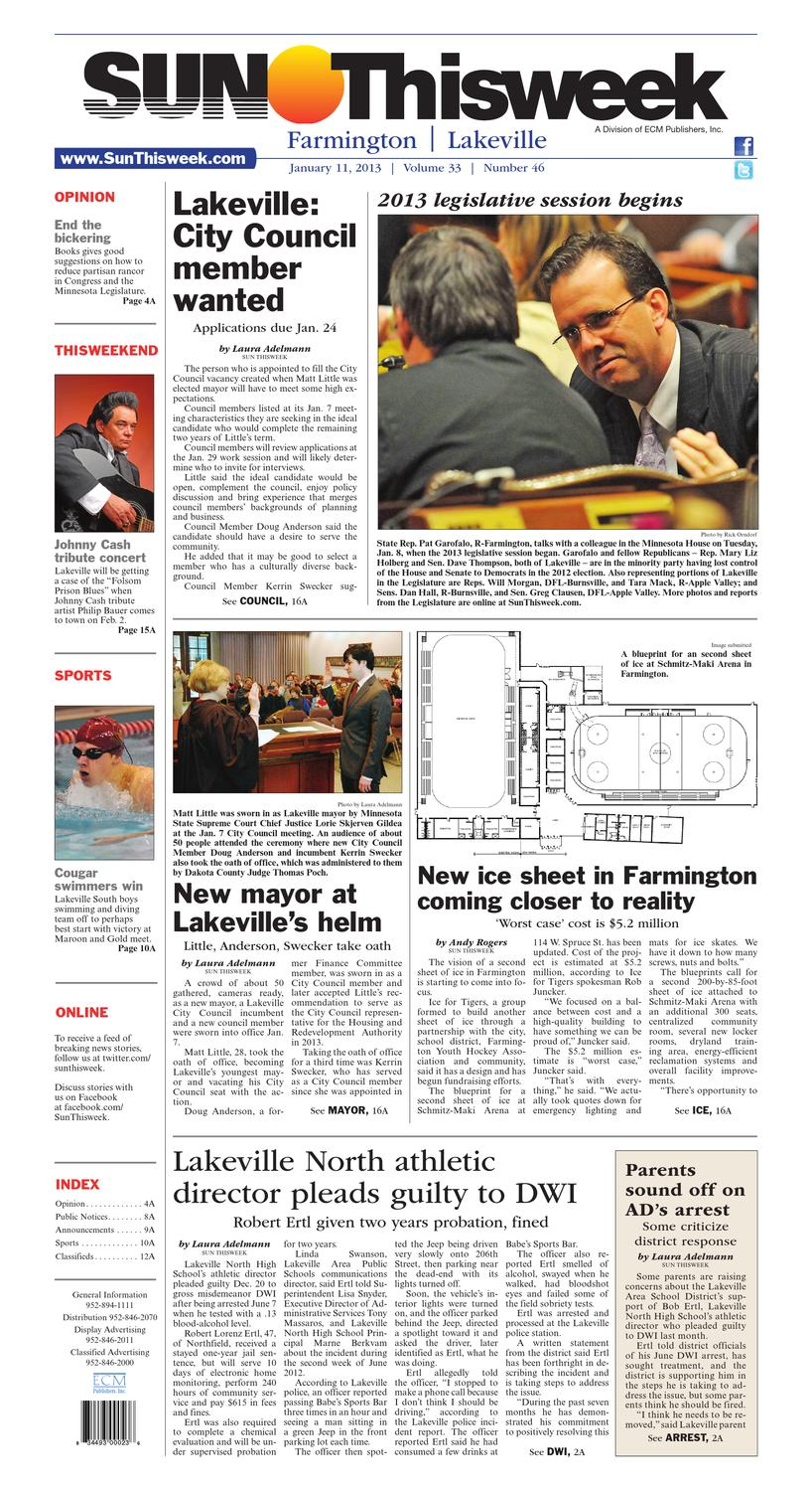 SUN Thisweek Farmington and Lakeville by Thisweek Newspapers ...