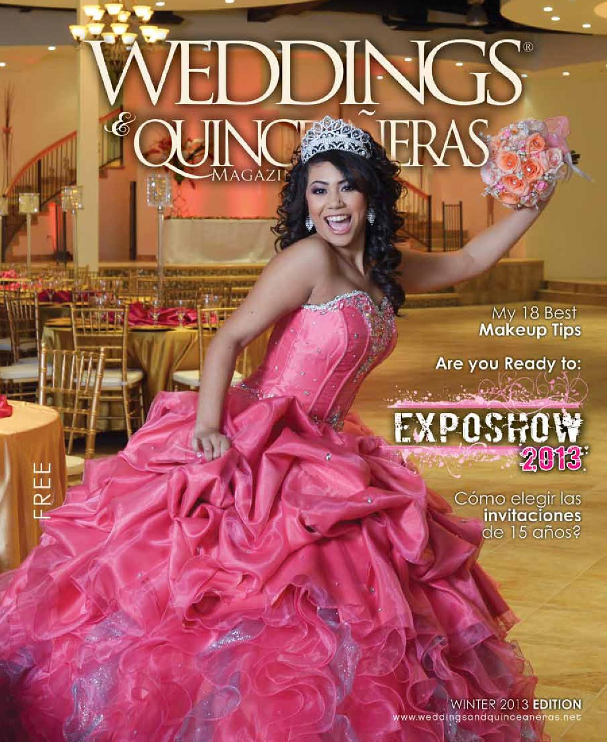 Weddings & Quinceaneras Winter 2013 by Diana Correa - issuu