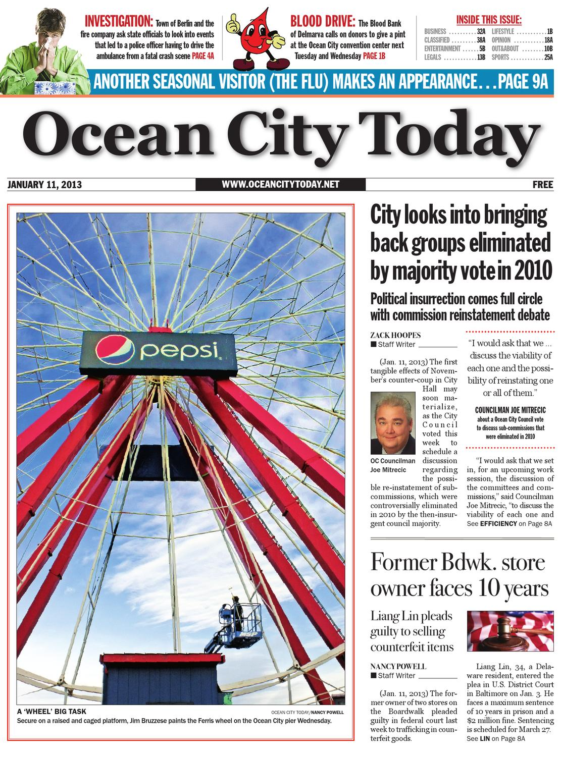 01.11.13 by ocean city today - issuu
