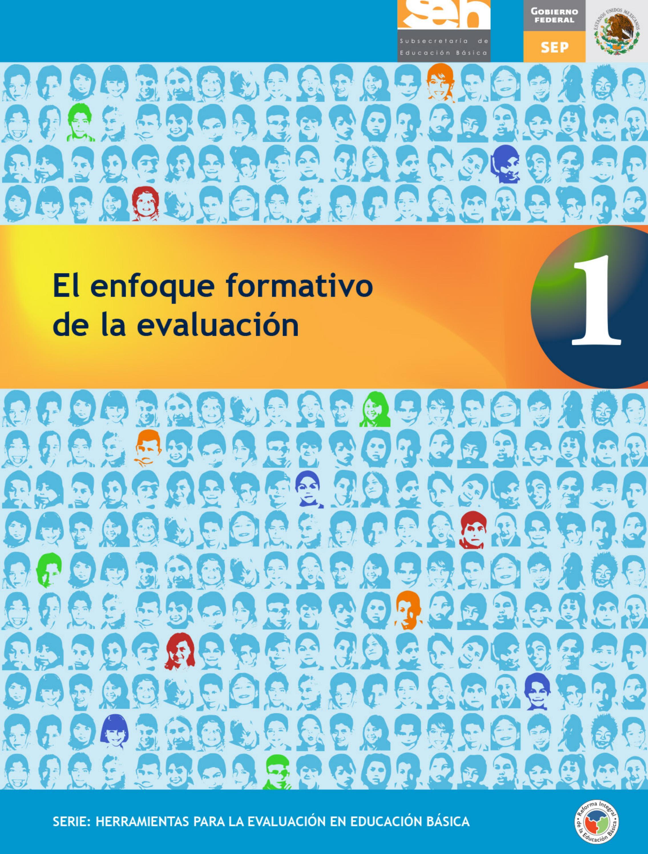 El Enfoque Formativo Dela Evaluaci 243 N By Subdireci 243 N De Educaci 243 N Primaria Secretaria De