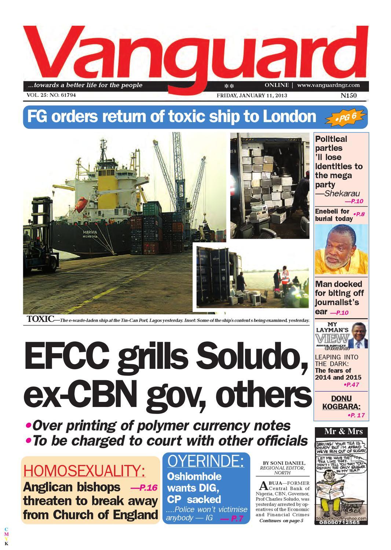EFCC grills Soludo, ex-CBN gov, others by Vanguard Media