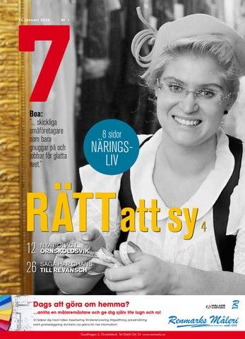 Tidningen 7 nr 1 2013 by 7an Mediapartner - issuu 4dade60793647