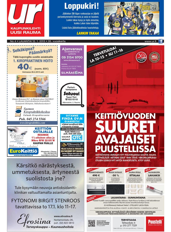 Uusi Rauma 12.1.2013 by Marva Group - issuu c794bbace2