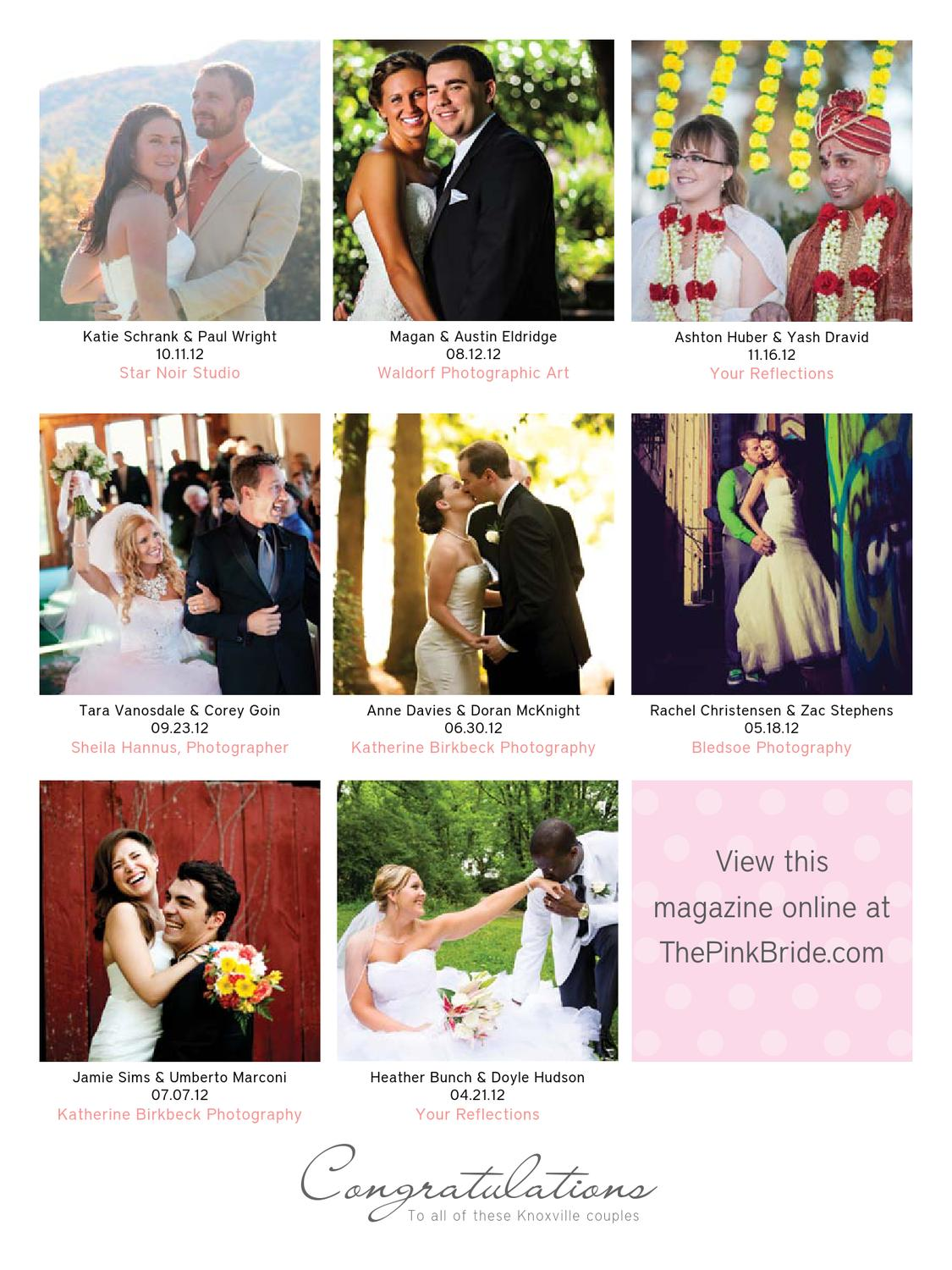 Knoxville Pink Bride Magazine Winter 2013 by The Pink Bride - issuu