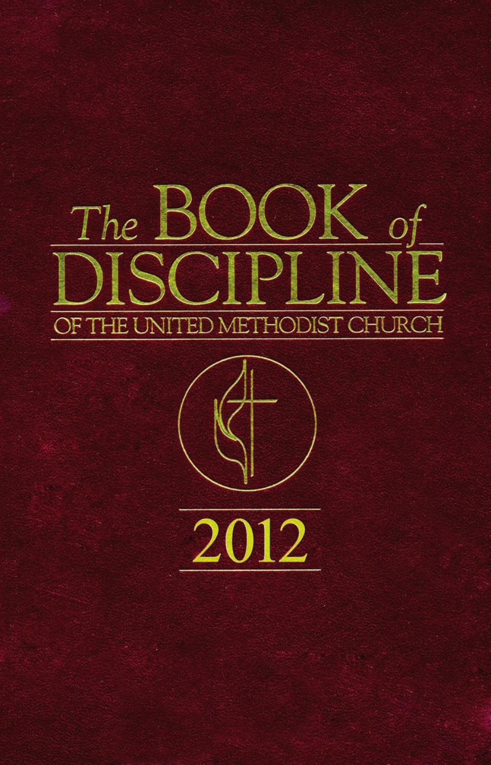 The book of discipline 2012 part ii by abingdon press issuu fandeluxe Gallery