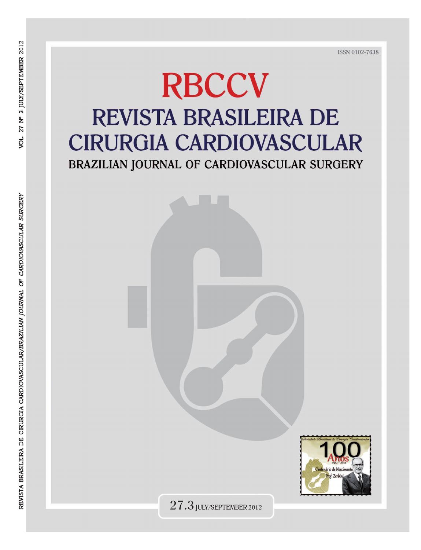 Brazilian Journal Of Cardiovascular Surgery 27 3 2012 By Revista Brasileira De Cirurgia Cardiovascular Issuu