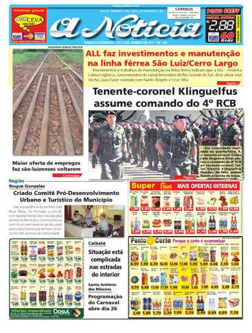 8d96e1796 Edição de 12 e 13 de janeiro de 2013 by Jornal A Notícia - issuu