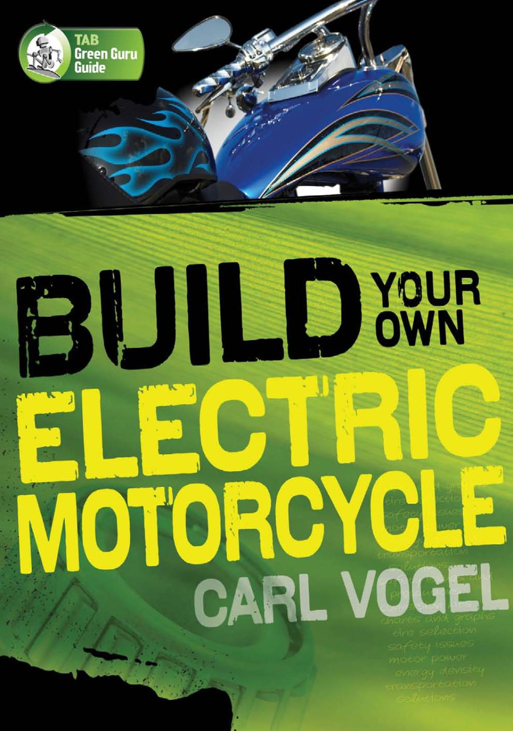 Build Your Own Electric Motorcycle By Jos Manuel Daz Issuu 20ma Signal Converter Further Ac Generator Circuit Diagram Likewise