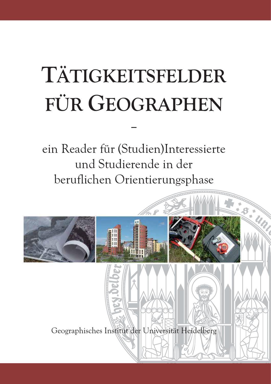 Tätigkeitsfelder für Geographen by Dima Koch - issuu