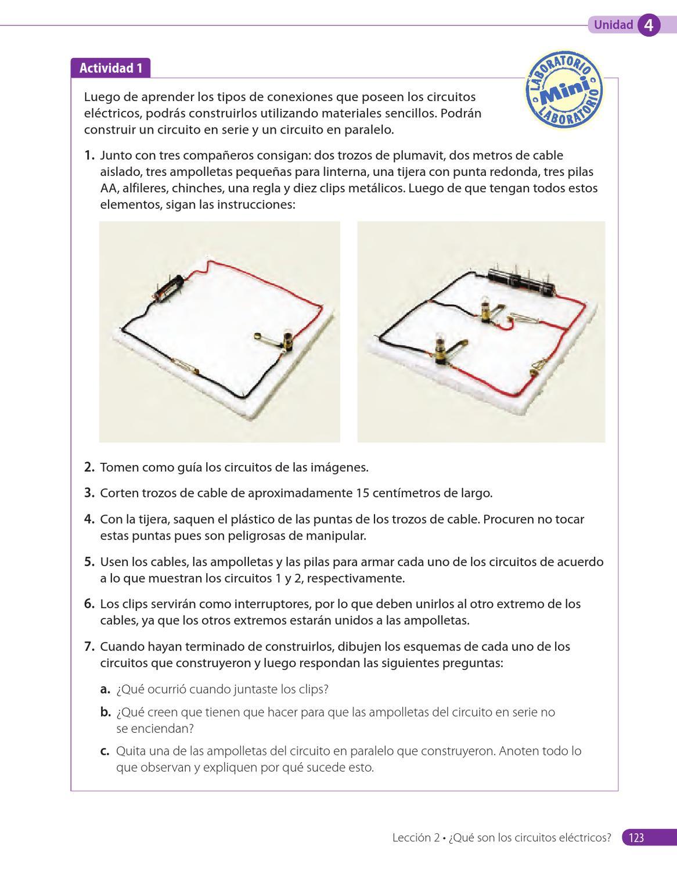 Circuito Electrico Basico : Circuito básico eléctrico electronica electricidad