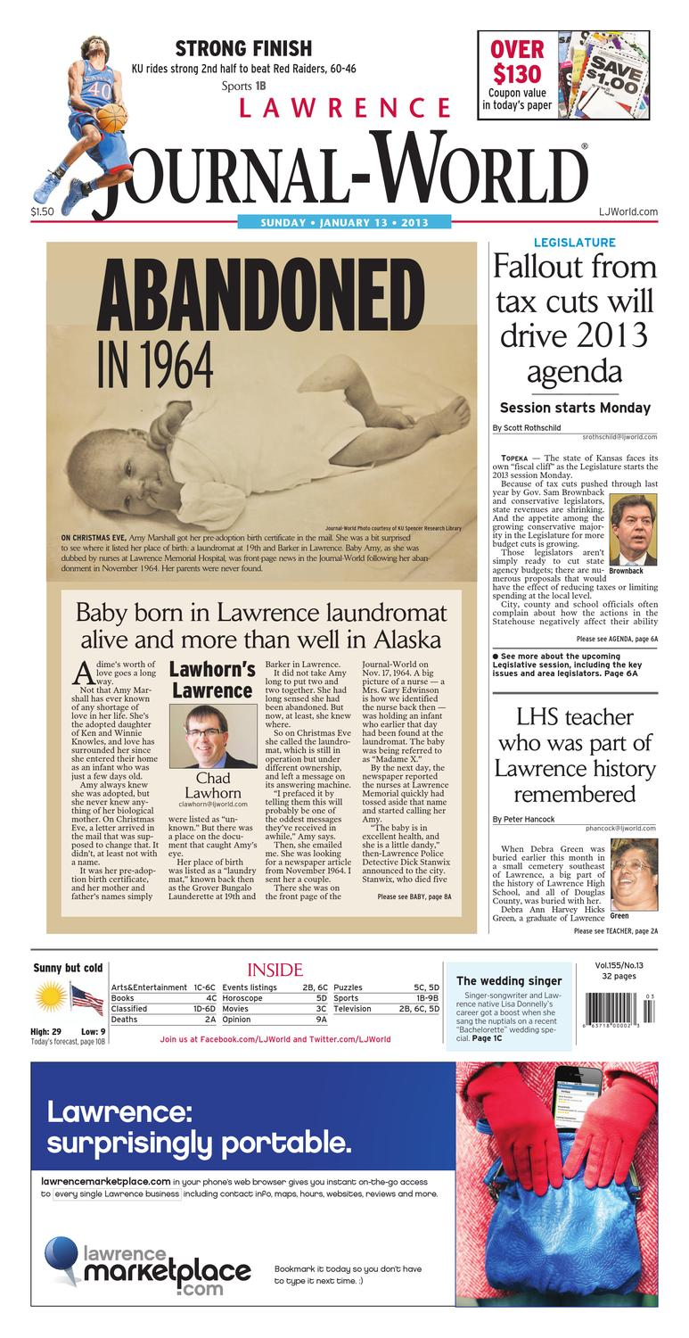 238704a74fc Lawrence Journal-World 01-13-13 by Lawrence Journal-World - issuu
