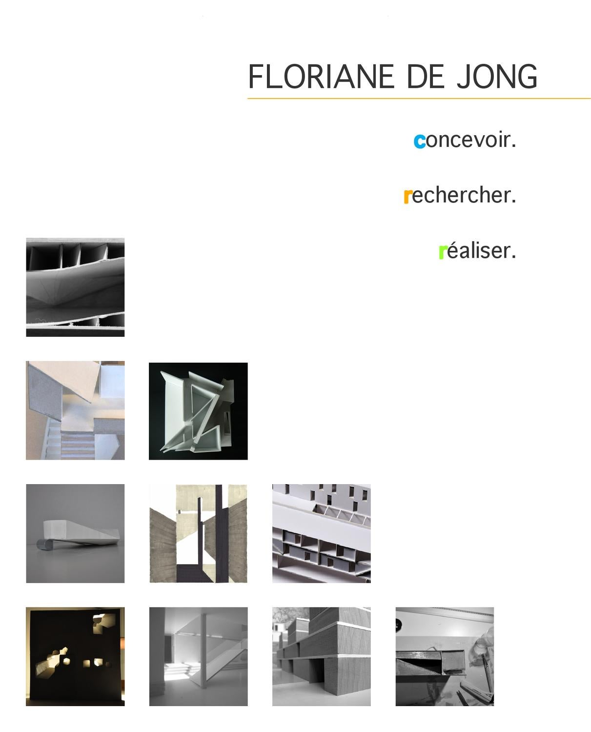 floriane de jong portfolio by floriane de jong issuu. Black Bedroom Furniture Sets. Home Design Ideas