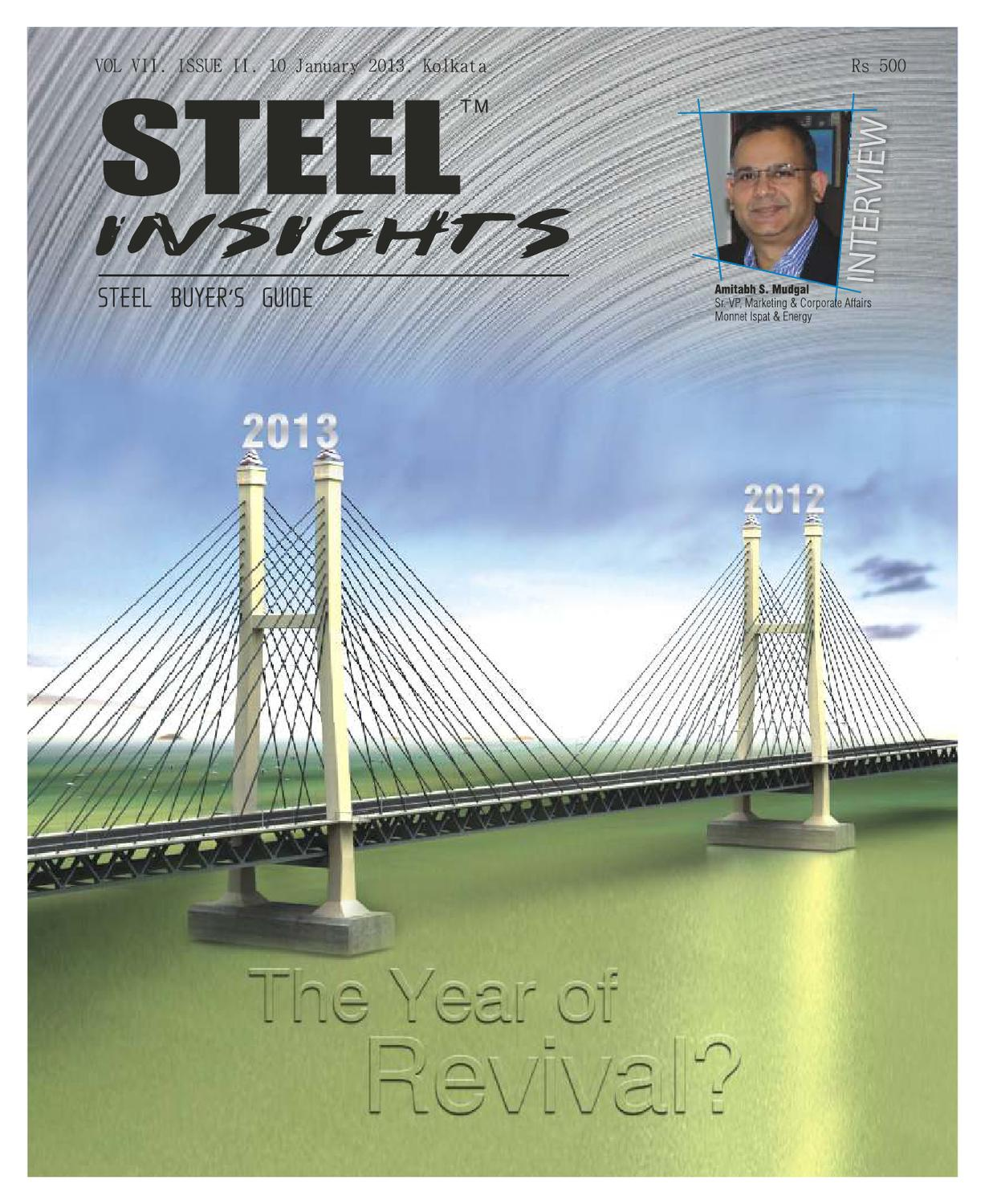 Steel Insights Jan 2013 by mjunction services ltd - issuu