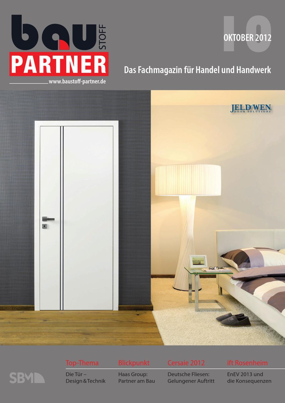 Attraktive Dekoration Herholz Turen Handler #21: Baustoff Partner 10/12 By SBM Verlag GmbH - Issuu