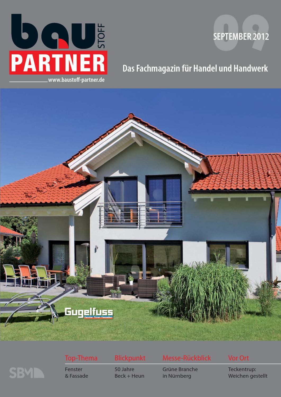 Baustoff Partner 09 12 By Sbm Verlag Gmbh Issuu