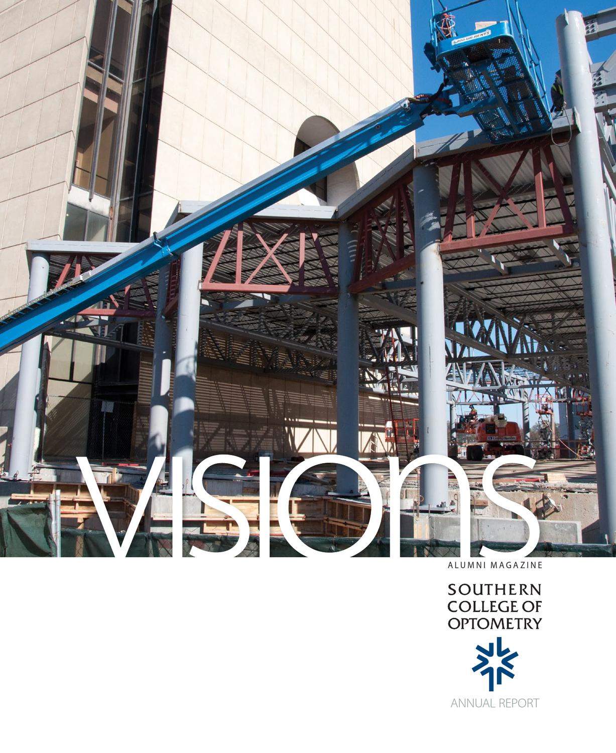 visions alumni magazine - annual report 2012 - southern college of