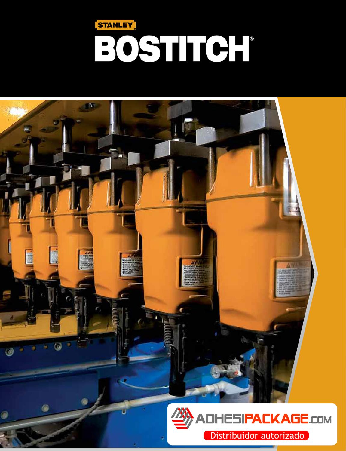 CATALOGO BOSTITCH INDUSTRIAL by Adhesipackage S.A de C.V. - issuu