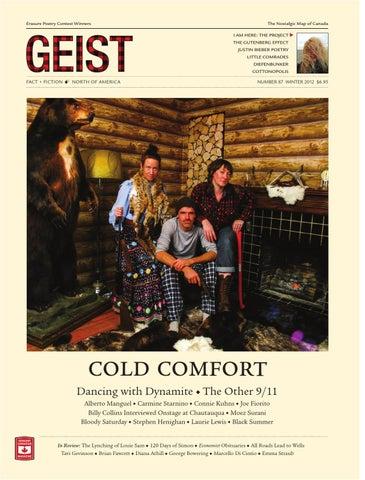Geist 87 Winter 2012 By Geist Magazine Issuu