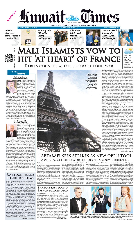 15 Jan By Kuwait Times Issuu