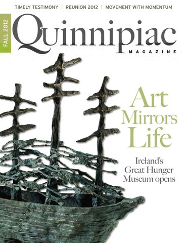 727a90e1152 Quinnipiac Magazine Fall 2012 by Quinnipiac University - issuu