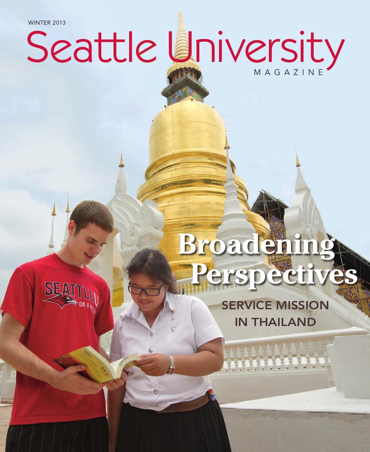 Seattle University Magazine Winter 2013 By Seattle University Issuu