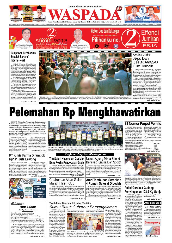 Waspada Selasa 15 Januari 2013 By Harian Issuu Produk Ukm Bumn Box Hantaran Pengantin Bio Art