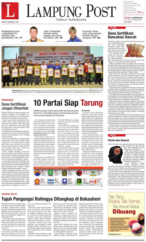lampungpost edisi 15 januari 2013 by Lampung Post - issuu 7b2e74ef3c
