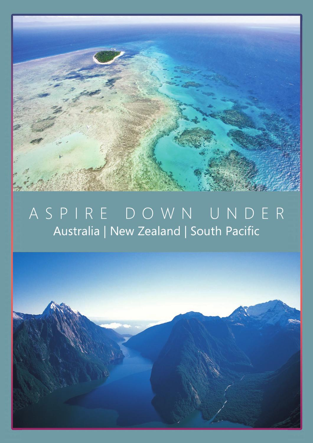 Destination Australia, New Zealand & South Pacific Aspire Down ...