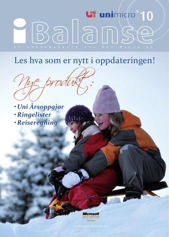 fdaceb085 Ibalanse vinteren 2010 by Uni Micro AS - issuu