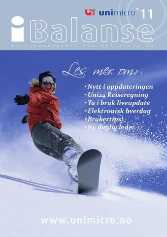 0ca09f126 Ibalanse vinteren 2011 by Uni Micro AS - issuu
