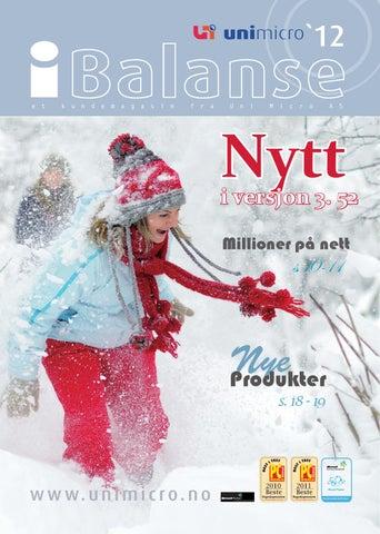 0db1d41d9 Ibalanse vinter 2012 by Uni Micro AS - issuu