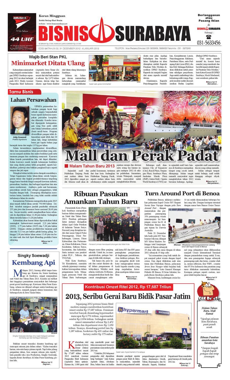 Edisi 84 31 Desember 2012 6 Januari 2013 By Bisnis Surabaya Issuu Produk Ukm Bumn Suscho Sus Coklat
