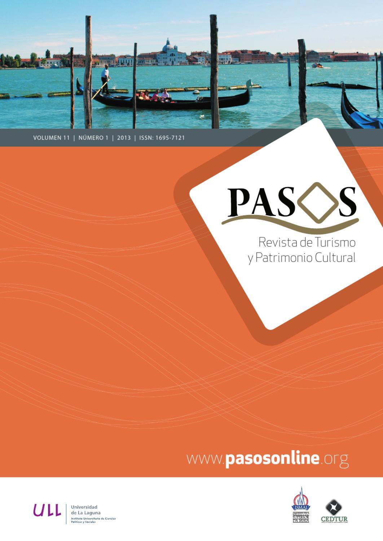 PASOS 11(1) 2013 by PASOS Revista de Turismo y Patrimonio Cultural - issuu 98c55b420105e