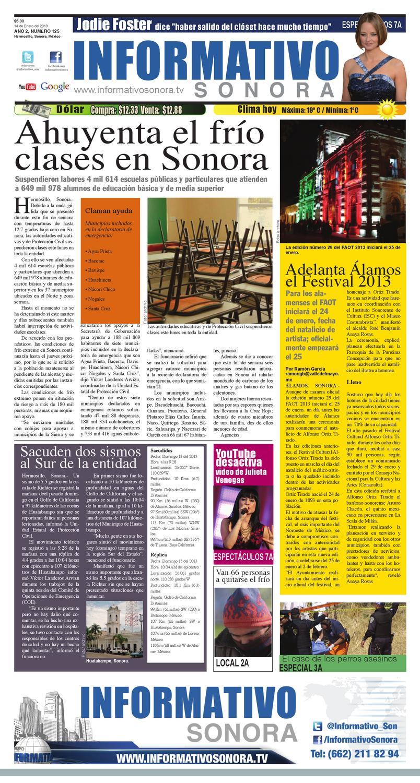 Periodico Informativo Sonora by Fausto Vazquez - issuu