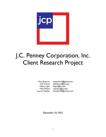 2ff503853 JCP Client Analysis by Laur Moe - issuu