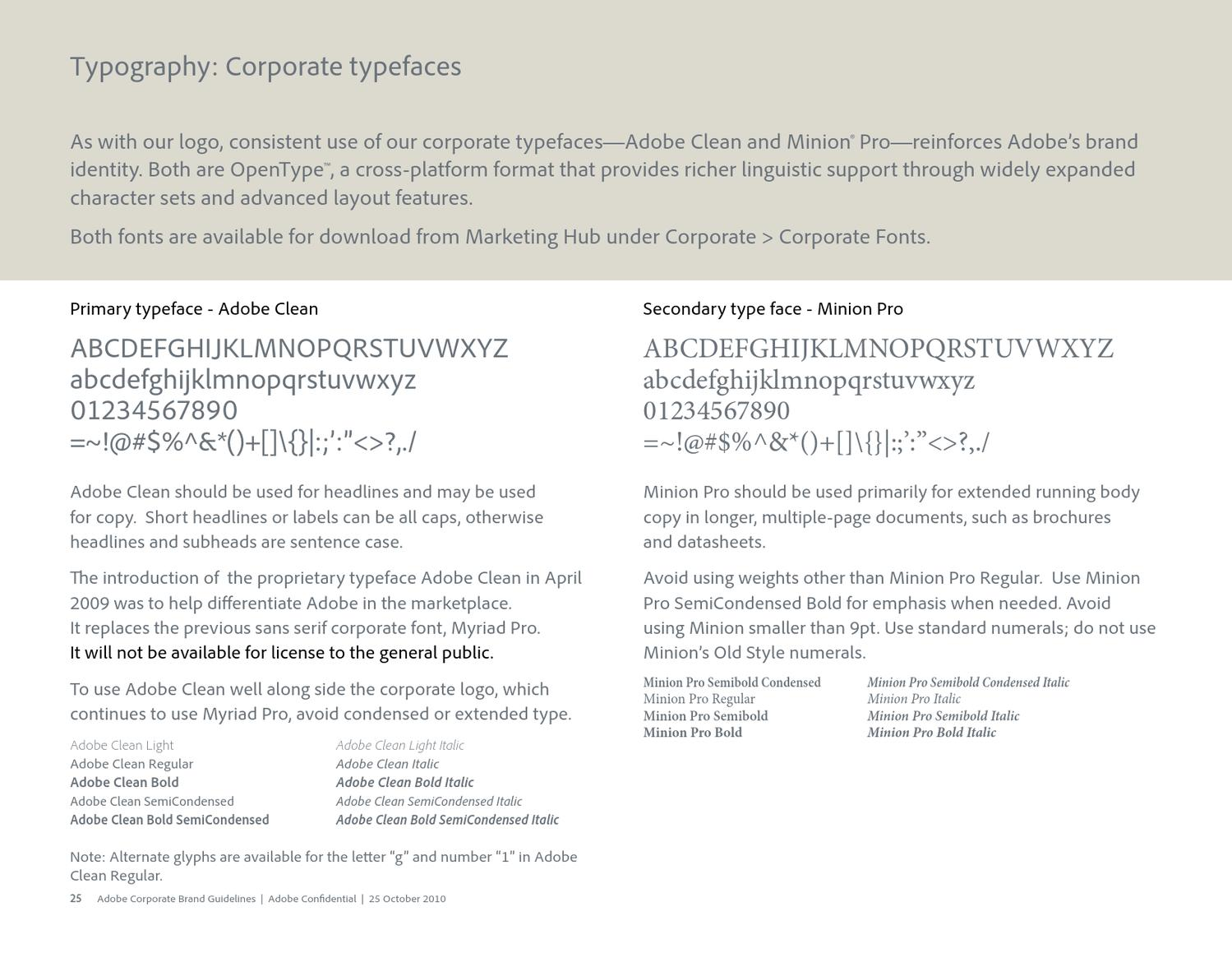 Adobe Brand Guidelines by LOGOBR - issuu