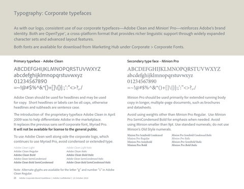 Adobe Brand Guidelines by LOGOBR - issuu