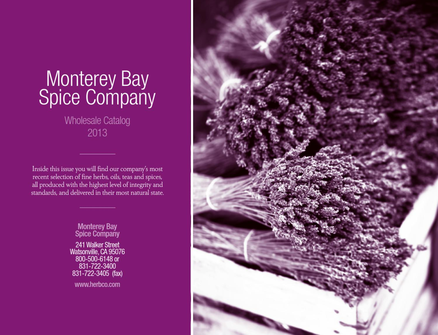 Monterey bay spice - The baby in the hangover