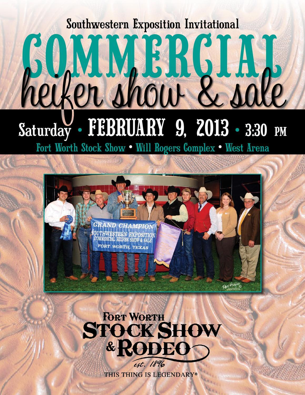 2013 Fort Worth Commercial Heifer Sale By Julie Murnin Issuu Rodeo Bundling 5