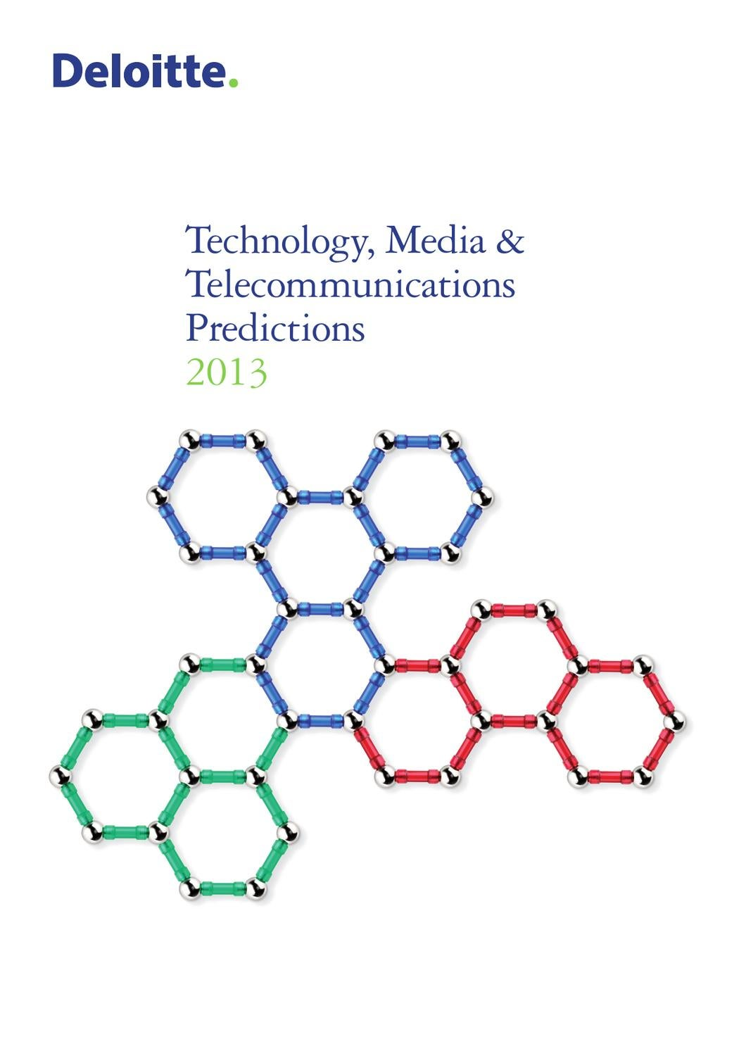 Technology, Media en Telecommunications Predictions 2013