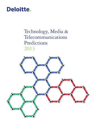 Technology, Media en Telecommunications Predictions 2013