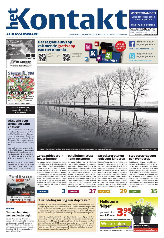 03 Editie Alblasserwaard 2013 by Kontakt Mediapartners issuu