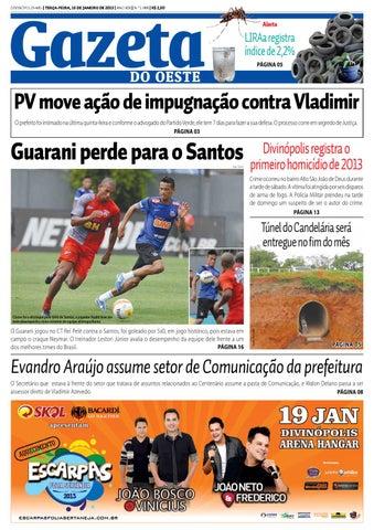 Gazeta do Oeste by Dacio Fernandes - issuu 5a868f33e0483