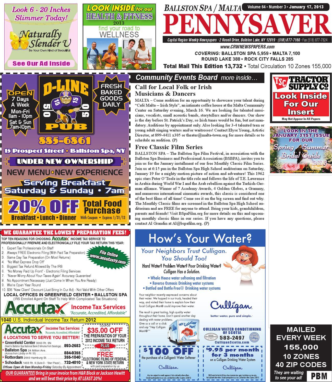 ballston spa malta pennysaver by capital region weekly