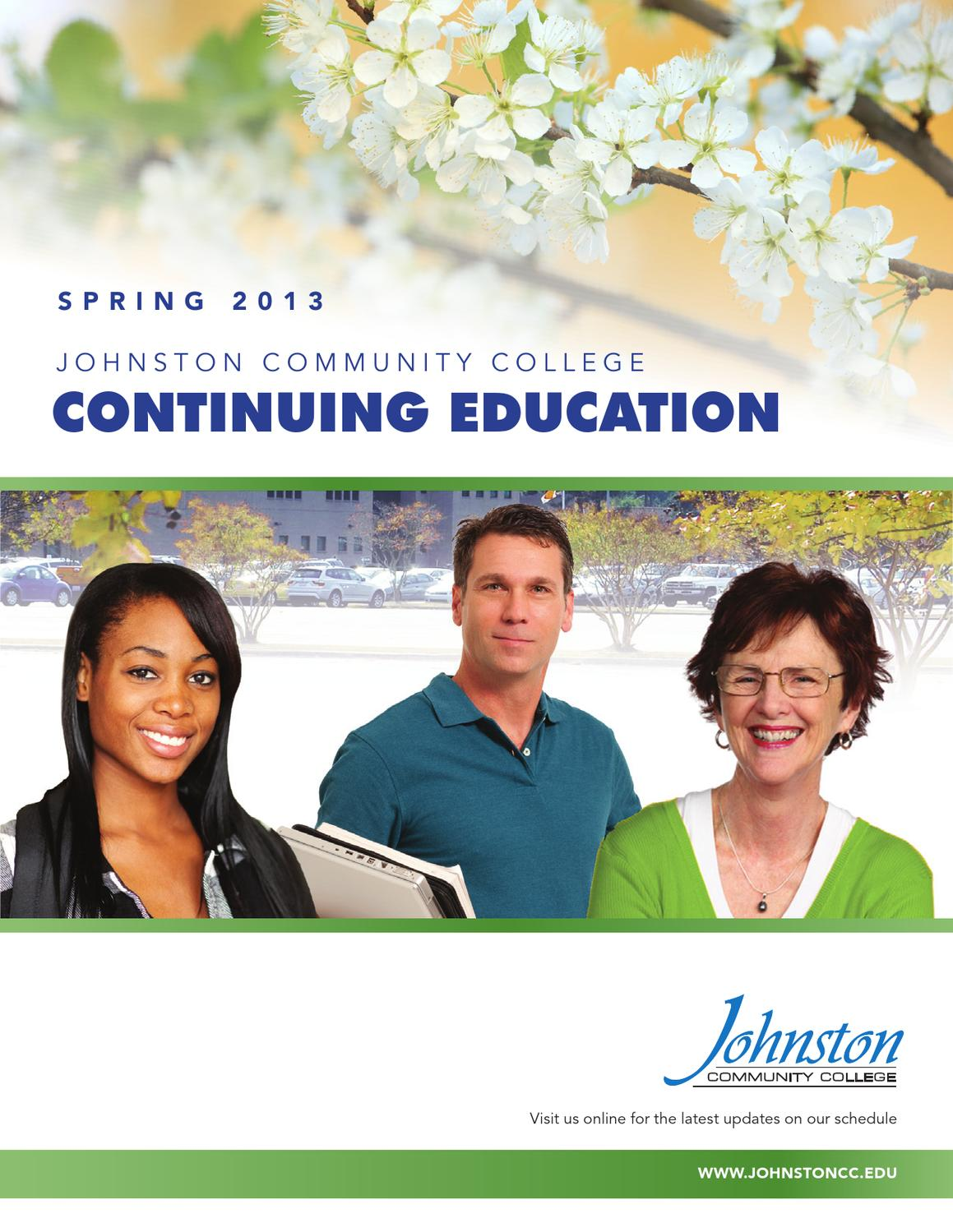 Continuing education schedule by johnston community college issuu 1betcityfo Image collections