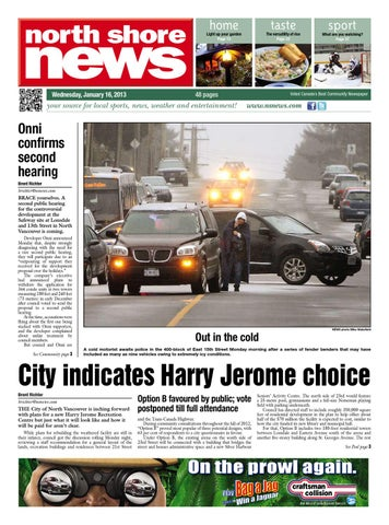 North shore news january 16 2013 by glacier digital issuu page 1 fandeluxe