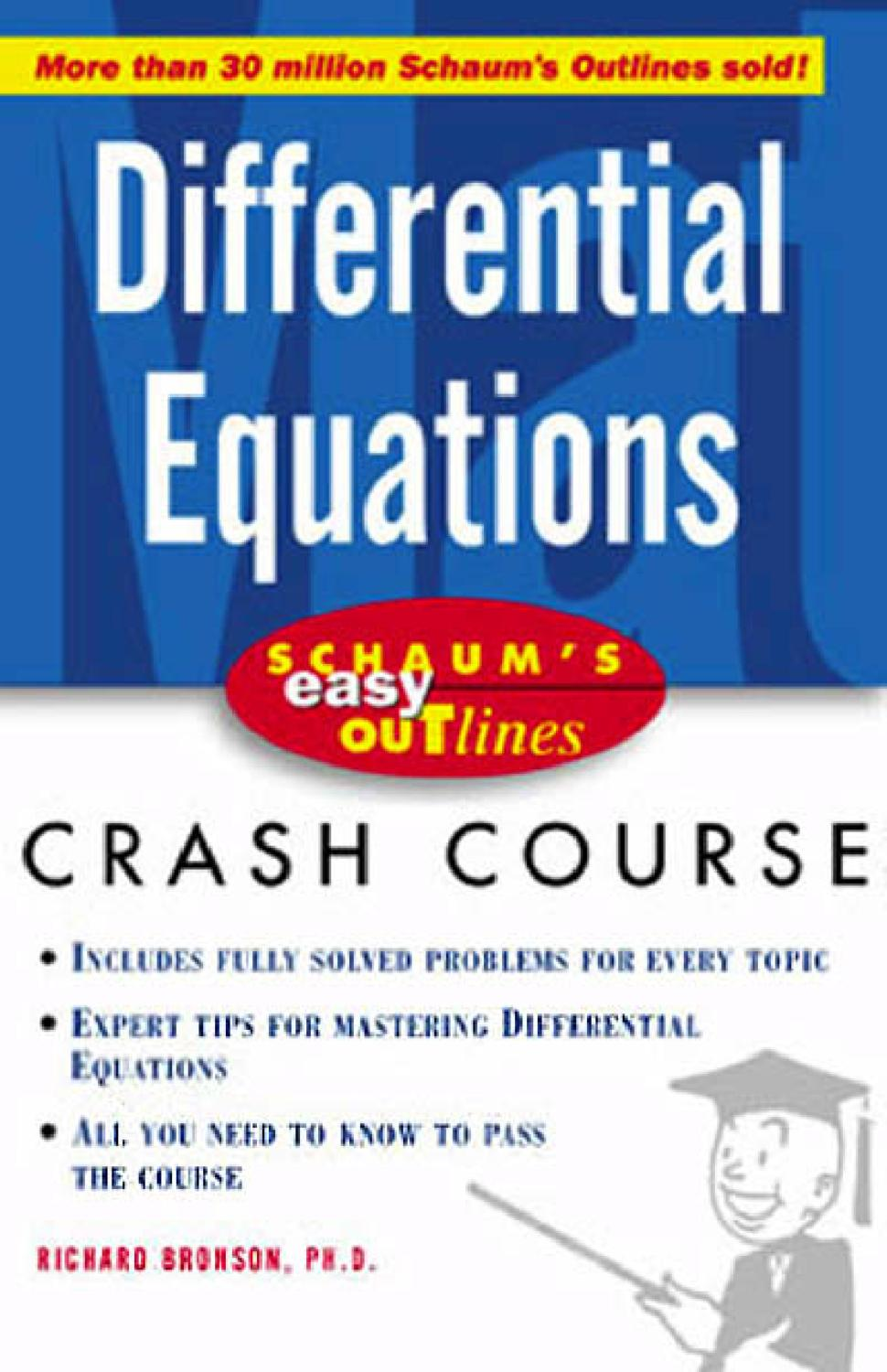 Mathematics Differential Equations Crash Course By Stephen Nikita Solve This Second Order Equation For A Rlc Series Circuit Issuu