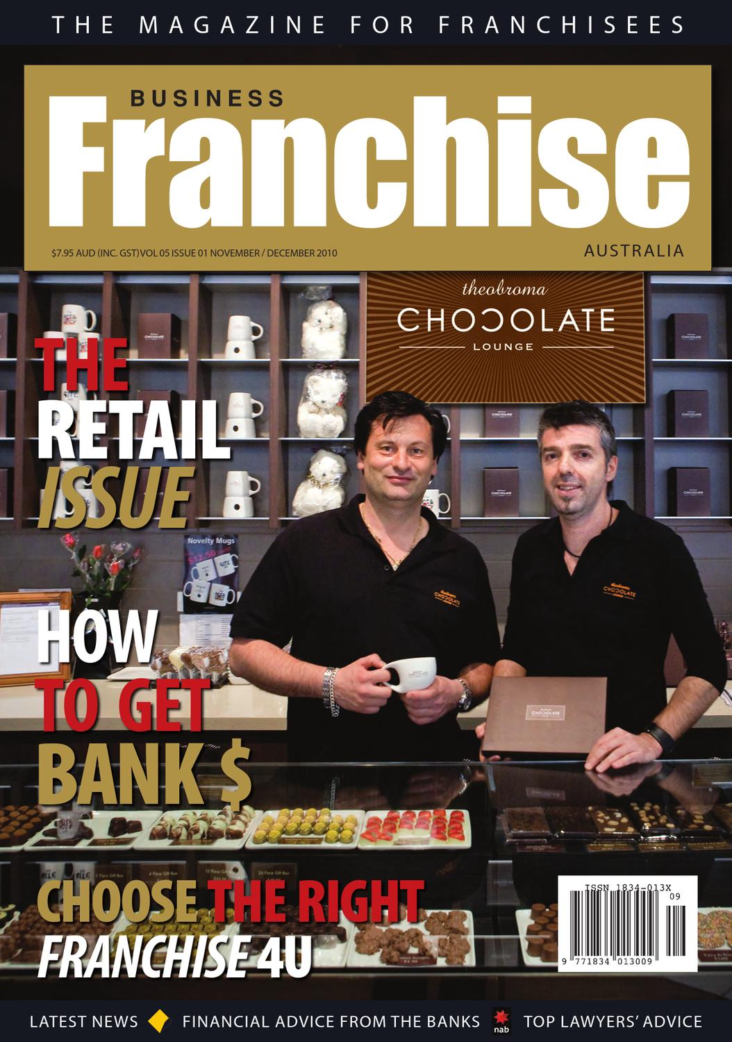 Business franchise aus nz nov dec 2010 by cgb publishing the biggest publisher of franchise publications issuu