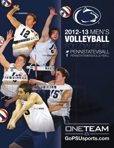 2013 Penn State Men s Volleyball Media Guide by Penn State Athletics ... c0a9bb977